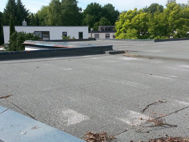 single ply membrane flat roof